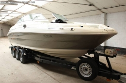 1 SEA RAY 240 Sundeck motorboot